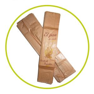 Bolsas de papel para barras de pan