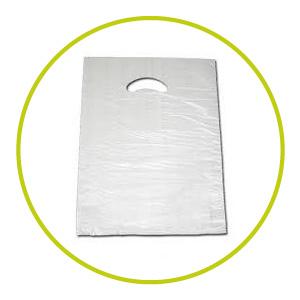 Bolsas de plástico de asa