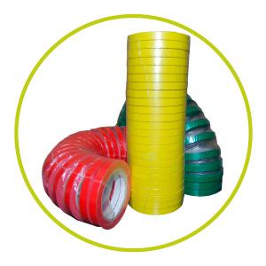 Rollos de cintas adhesivas